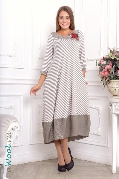 платье юла комбинированное L2E