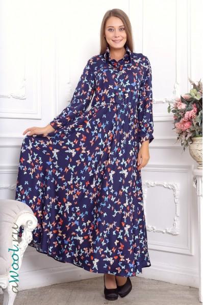 платье отрезное макси L4A