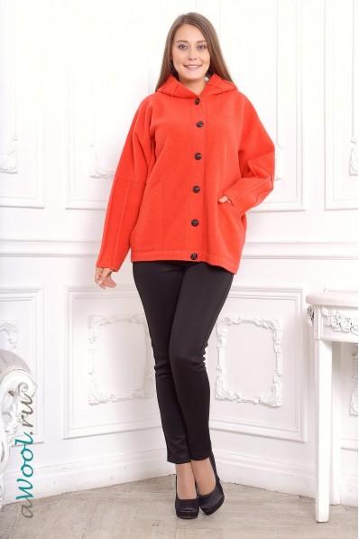 женская куртка v силуэта с кaпюшоном C3M