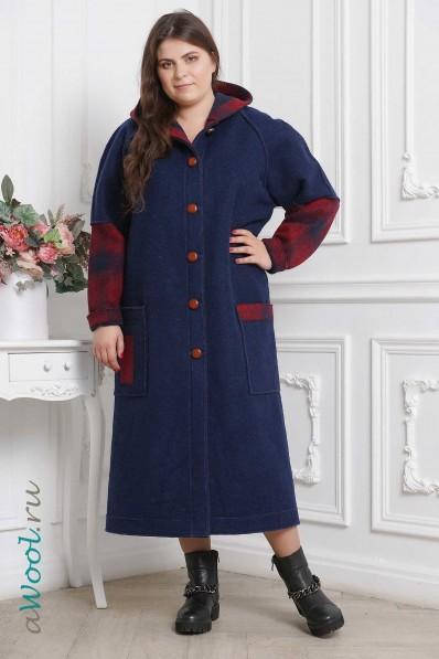 Женское пальто прямое P5F